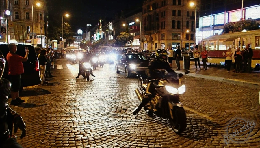 Prague Night Ride 2012